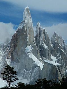 Verticality - Cerro Torre (Patagonia, Argentina) by Lorena Vezzoli