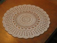 Crochet doily / rug
