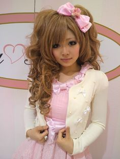 Ayano, Japanese hime gyaru idol and shop girl of La Parfait -