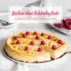 Low-Carb Blueberry-Cheesecake ohne Backen