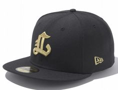 Metallic Gold Nishitetsu Lions 59Fifty Fitted Baseball Cap by NEW ERA x NPB