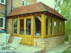 Oak framed extensions Gallery - Sussex Oak Framers