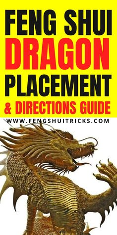 The Feng Shui dragon is a powerful and auspicious traditional feng shui cure and an excellent yang / masculine strong feng shui symbol. #dragon #fengshuidragon #fengshui #chinesedragon #dragonplacement #dragondirection #goldendragon #japanesedragon #dragonfestival Feng Shui Cures, Feng Shui Tips, Japanese Dragon, Chinese Dragon, Feng Shui Lucky Bamboo, Feng Shui Dragon, Feng Shui Symbols, Lucky Symbols, The Cure