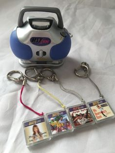 """Pin for Later: 15 Nostalgic Products From Claire's That Kids Today Totally Wouldn't Understand Hit Clips """"How did people survive without iTunes? 90s Toys, Retro Toys, 90s Childhood, Childhood Memories, 13 Year Old Boys, My Past Life, 90s Nostalgia, Retro Aesthetic, Brooklyn Baby"""