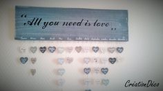 Etsy - Shop for handmade, vintage, custom, and unique gifts for everyone Decoration, Love You, Etsy, Crafts, Birthday Calendar Board, Handmade, Dream Catchers, Decor, Te Amo