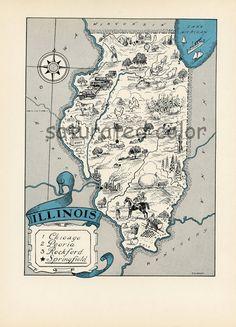 LITTLE ROCK Canvas Print AR Arkansas Vintage map Little Rock City