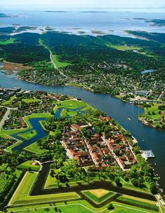 Star Fort: The Old Town in #Fredrikstad #Norway