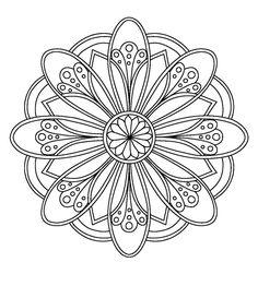 – 0 Coloring Mandalas etc - Malvorlagen Mandala Mandala Art, Mandalas Painting, Mandalas Drawing, Mandala Coloring Pages, Mandala Pattern, Zentangle Patterns, Coloring Book Pages, Dot Painting, Coloring Sheets