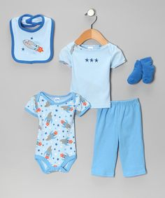 Adorable set for baby boy,  $10.99 at Zulily