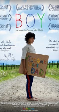 Movie 44/50: Boy (2010). My rating: 3/5. A bittersweet story of childhood optimism, imagination, role models and disappointment. Great work from the actors, and the haka at the end was a nice touch!