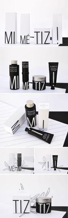 Minimalist Mimétiz Luxury Cosmetic Packaging Design