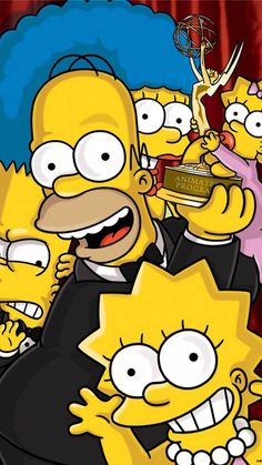Papel de parede dos Simpsons , wallpaper dos simpsons , papel de parede para iphone ou android em  hd ou alta qualidade dos simpsons 2018 #simpson #papeldeparede  #wallpaper  #tatuagem