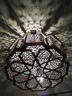 BZ10 Moroccan Star Chandelier Ceiling Light Fixture in Collectibles, Lamps, Lighting, Ceiling Fixtures | eBay