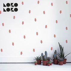 Pack de vinilos adhesivos de corales marinos  // #lokolokodecora #vinilospared #walldecals #vinyl #stickers #decoracion #tropical Wall Patterns, Tropical, Diy, Home Decor, Patterned Wall, Coral Navy, Decorate Walls, Vinyls, Corals