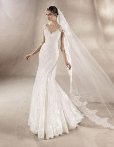 White One Bridal Gown Style - Yuana