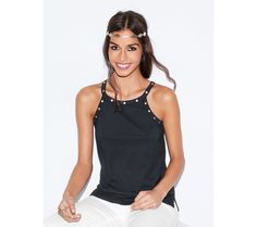 Top s cvokmi Basic Tank Top, Camisole Top, Tank Tops, Cloths, Outfits, Style Fashion, Women, Girls, Neckline