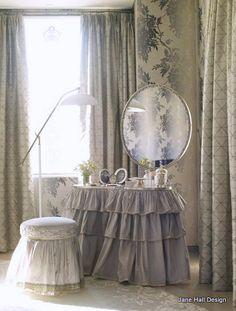 Romantic style dressing room