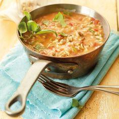 Tomaten-Mozzarella-Risotto Rezept | Weight Watchers