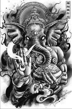 Tattoo Mafia, Dancer Tattoo, Ganesha Tattoo, Hindu Tattoos, Asian Tattoos, Apocalypse Tattoo, Religion Tattoos, All Seeing Eye Tattoo, Buddha Tattoo Design