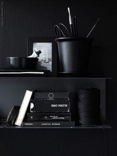 Black arrangement