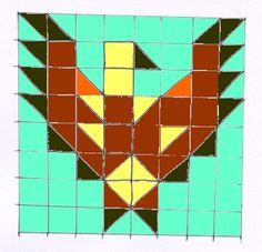 Sew a Patchwork Eagle Wall-hanging - Free Pattern
