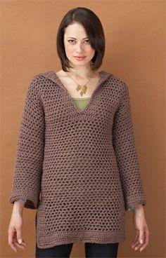Free Crochet Pattern: Beach Cover-up / Tunic