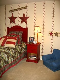 Take Me Out To The Ball Game - Boys Room - Design Dazzle