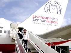 PAUL ON THE RUN: Liverpool John Lennon airport rips out its Capital...