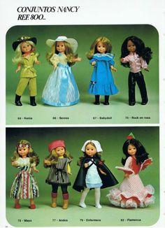 Nancy (5) Vestidos Nancy, Nancy Doll, Nostalgia, Childhood Memories, Primitive Painting, Doll Clothes, Plush