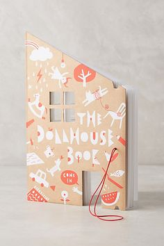 Dollhouse Coloring Book #anthropologie