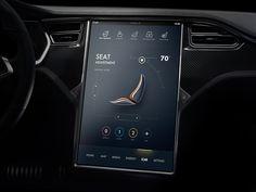 Tesla Concept exploration by Vicon #Design Popular #Dribbble #shots