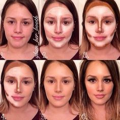 www.weddbook.com everything about wedding ♥ Great contouring tutorial #weddbook #wedding #makeup #tutorial