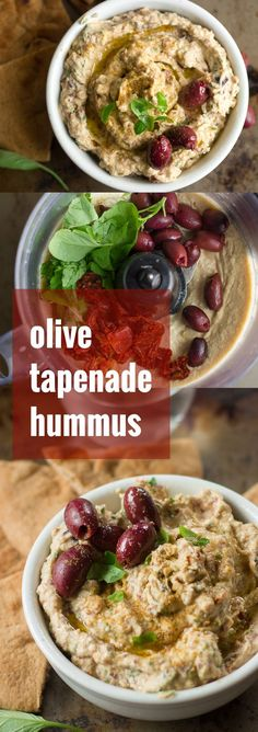 This creamy spread is made from a base of garlicky whipped chickpeas, with fresh basil, sun-dried tomatoes and kalamata olives. Is it a hummus or a tapenade? Who cares? It's delicious!