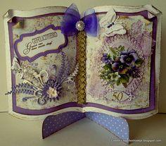 Odette's kaartenhoekje: Gefeliciteerd !