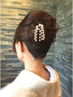 Hair Arrange, Hair Reference, Updos, Salons, Kimono, Hair Beauty, Make Up, Hairstyle, Elegant