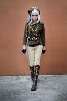 Steampunk Tendencies | Kaye Balasbas http://www.steampunktendencies.com/post/79943598362/