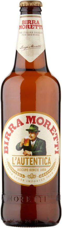 Birra Moretti L`Autentica