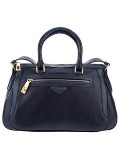 MARC BY MARC JACOBS Shoulder Bag  Love the simple structure and blue hues! Gold tone hardware adds a nice touch.