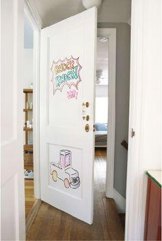 IdeaPaint On A Door.