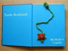 Free Crochet Bookmark Pattern | My Hobby Is Crochet: 5 Free Crochet Bookmark Patterns your kids will ...