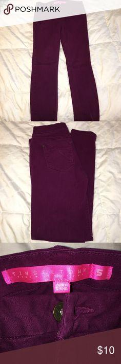 Skinny jeans Dark purple color Jeans Skinny