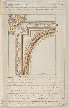 Jules-Edmond-Charles Lachaise | Interior Decorator's Account Book of Hours Spent | The Met