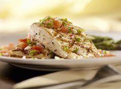 Halibut  Foods rich with magnesium help with hair growth, explains Ellery. A lack of magnesium can cause hair loss. Halibut (and other types of fish) are rich in the mineral