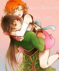 Lie Ren X Nora Valkyrie. I ship it...