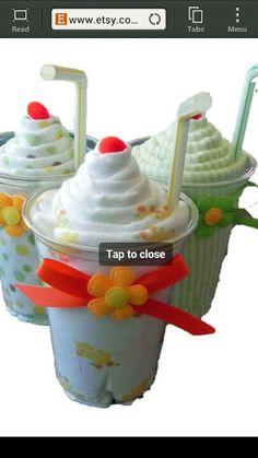 Milkshakes for baby gift! Love it!!!