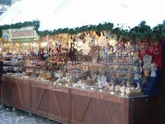 A stall at the Nuremberg Christmas Market #EuropeanChristmasMarkets #Travel #Shopping