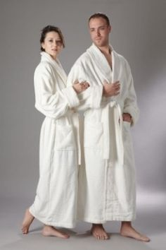 c436510a35 A Cotton Bath Robe for Men or Women Makes the Coziest Gift