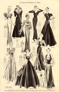 Weldons Catalogue of Fashions, via Vintage Chic.