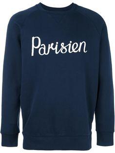 MAISON KITSUNÉ 'Parisien' sweatshirt. #maisonkitsuné #cloth #sweatshirt
