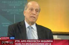 PTE. APD Proyecta Segunda Vuelta En Elecciones 2016 #Video